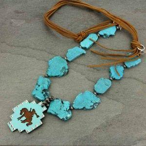 Jewelry - Bronco Stone Necklace